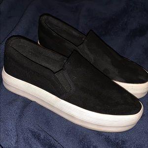 platform slip on shoes